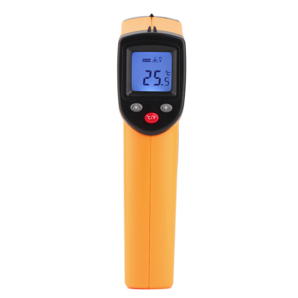 1Pcs GM320 Non-Contact Laser LCD Display IR Infrared Digital CF Selection Surface Temperature Thermometer For Industry Home Use