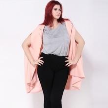 Plus size 5xl women new fashion summer solid color loose blazer suit jacket blaser femenino casual womens blazers ZJ1070