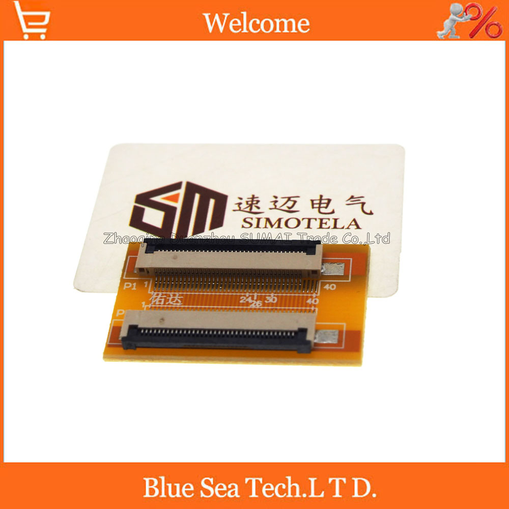36 Pin 0.5mm FPC/FFC PCB connector socket adapter board,36P flat cable extend for LCD screen interface logic board runtk4908tp cpwbx4908tp kf757 qpwbxf757wjzz for screen connector cable