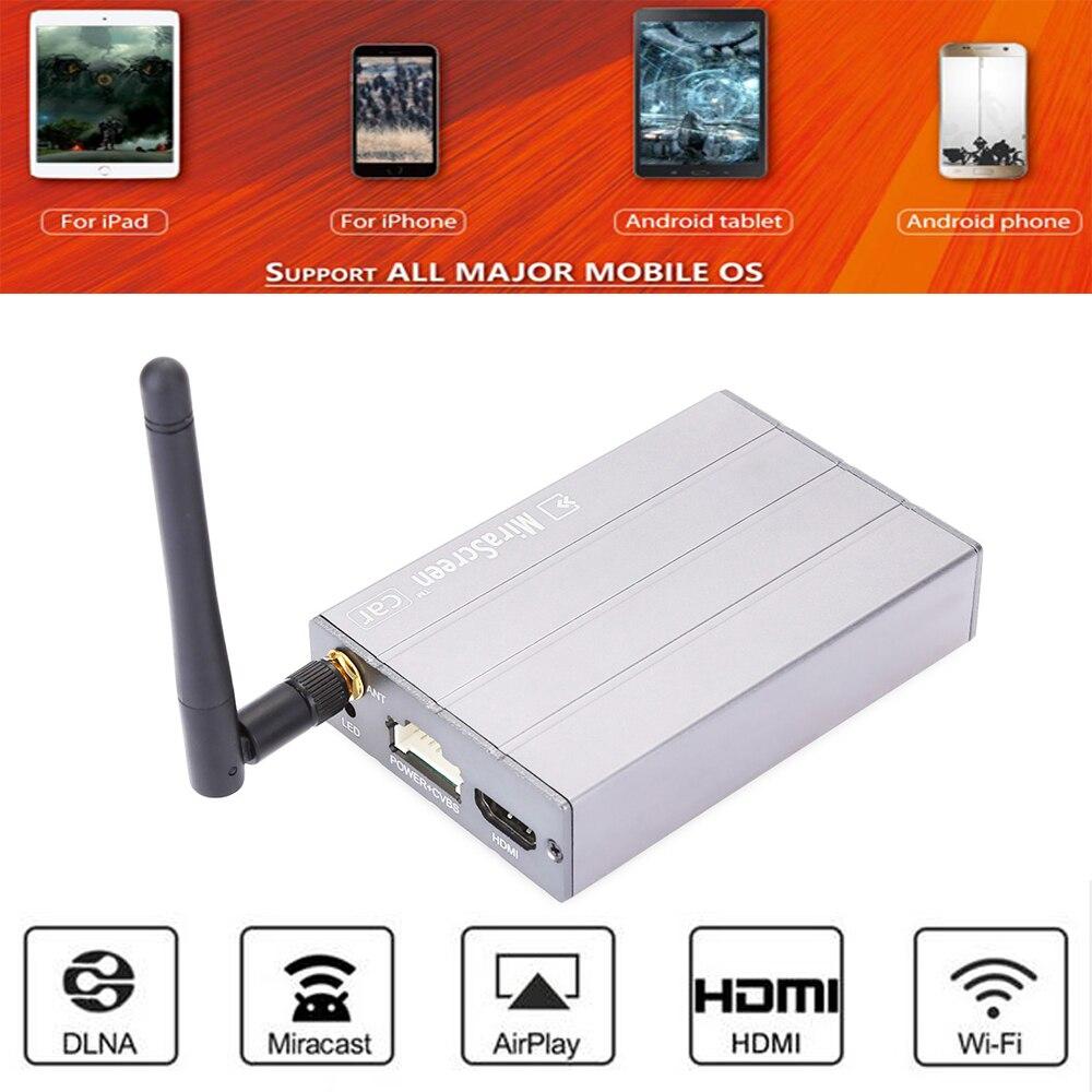 Mirascreen C1 телевизор автомобильных мультимедийных рукоять 1080 P HD беспроводной адаптер Miracast DLNA EZcast дисплей Дублирование экрана устройства для ...