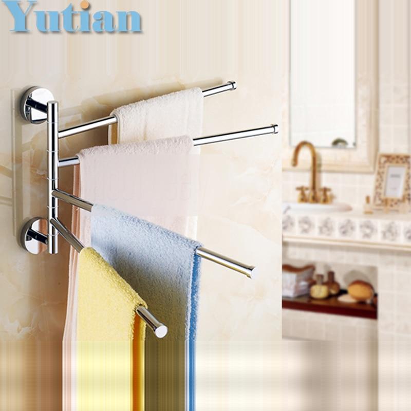 Free Shipping,fashion, brand new,high quality solid brass bathroom accessory,Movable Towel bars,Towel rail, whole sale & retail полотенце brand new 1 hair drying towel