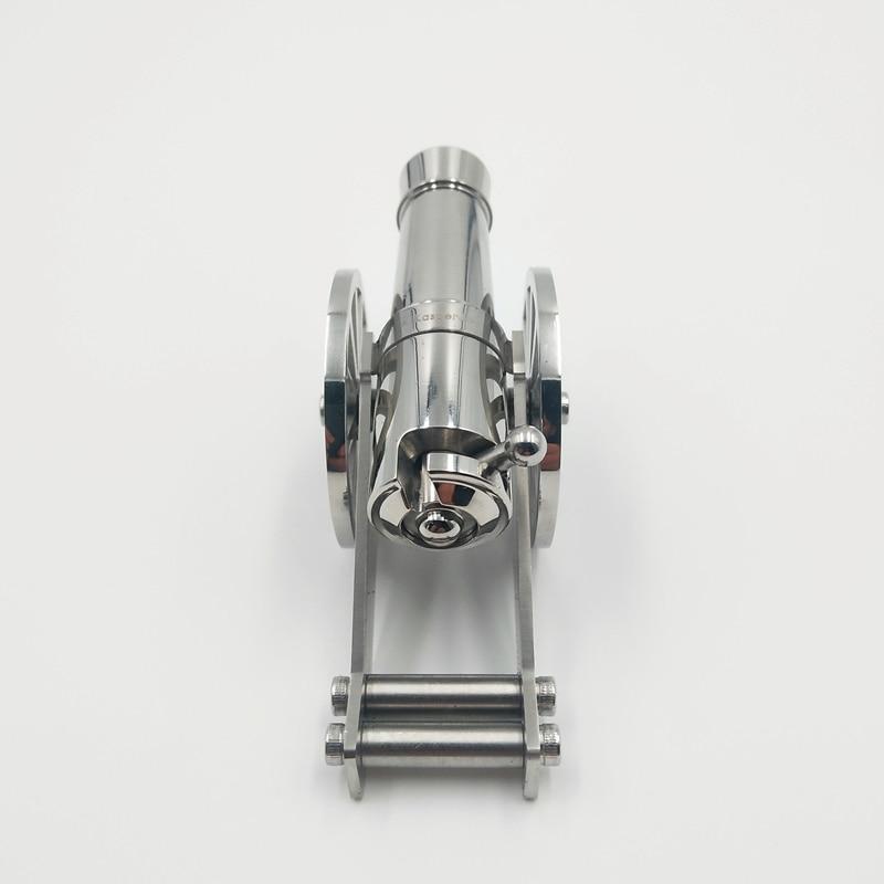 metal naval desktop modelo artilharia kit para