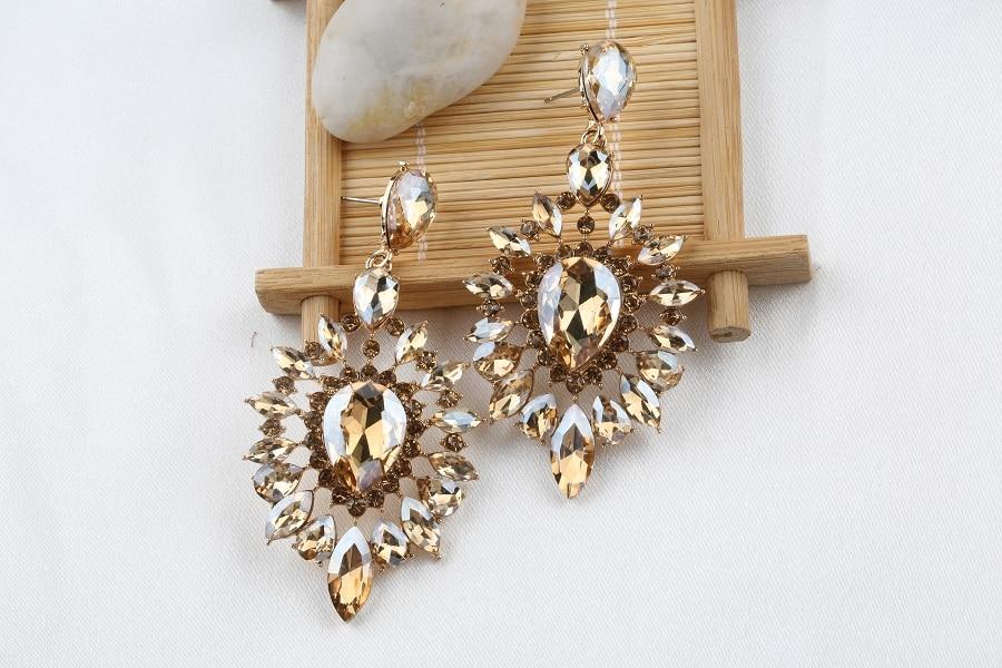 VEYO Crystal Earrings for Women Gift Luxury Drop Earrings New Arrival Wholesale 6
