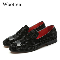 loafers plus size adult designer fashion dress brand luxury social driving mens shoes casual #601