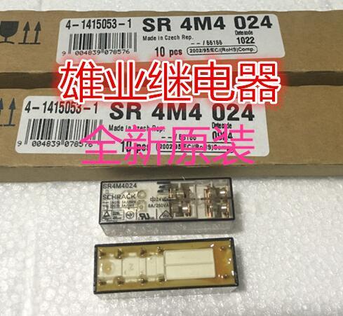 HOT NEW relay SR4M4024 24VDC SR4M4024-24DCV 4M4024 24VDC 8A 250VAC SCHRACK DIP10 dynacord dynacord d 8a