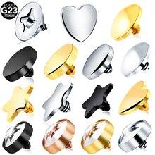 Lot Piercings G23 Grade Titanium Dermal Anchor Body Piercing Jewelry