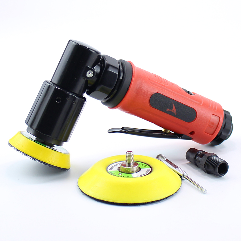 High Quality 2 inches 3 Inch Orbit Sander Air Sander Pneumatic Polishing Machine Tool 90 Degree