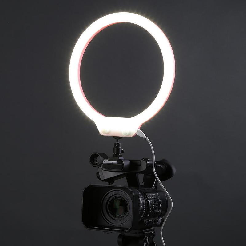 Photo Studio Video 58W 224pcs LED Ring Light 5500K Dimmable Lamp Camera Phone Lighting Photography Dimmable Makeup Ring Lamp studio 19 48cm 55w 5500k dimmable led ring light lamp with color filter for video photo makeup beauty selfie lighting ru
