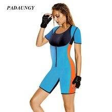 Padaungy неопрен боди full body shaper для похудения живота underwear butt lifter пластика управления трусики горячие формочек для женщин