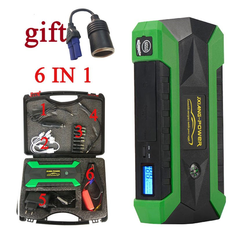 JKCOVER Car Jump Starter Petrol Car Battery Charger Emergency 60C Discharge Auto Starting Booster 68000 mWh