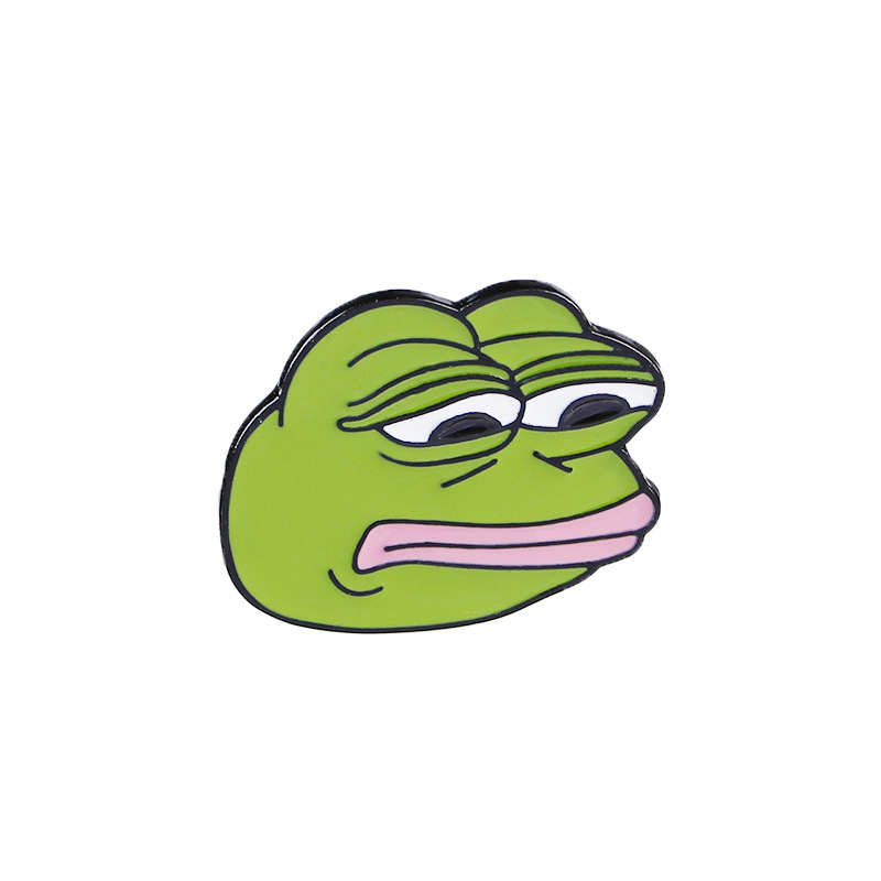 Arts,crafts & Sewing Pepe Sad Frog Enamel Lapel Pin Feels Bad Man Brooch Pin Feels Good Man Badges Pop Funny Pins Jewelry For Clothing