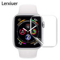 Full For Apple Watch 5 4 accessories iwatch 44mm 40mm 9D watch Anti-Shock Screen Protector Cover Protective Film