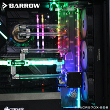 Barrow CR570X-SDB, Corso D'acqua Schede Per Corsair 570X/500D Caso, per Intel CPU Water Block & Single/Dual GPU Edifici