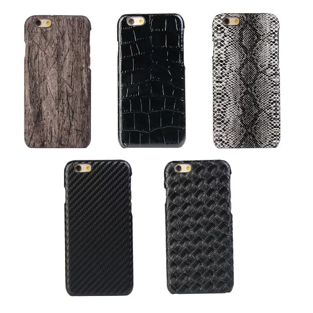 size 40 090c7 06e61 US $2.99 |Fashion Snakeskin Wood style Case for iphone 6 case 6s Leather  cover for iphone 6s case-in Half-wrapped Cases from Cellphones & ...