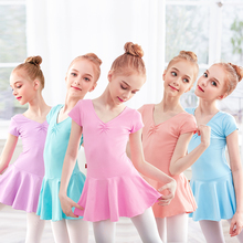 New Arrivels Toddler Cotton Ballet Leotards Girls Dance Dress Gym Suit Child Ballet Dance Clothes Training Dancewear