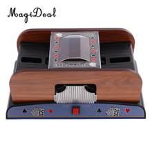 MagiDeal Standard Spielkarte Acce Poker Kartenmischer Automatische Schlurfen Maschine Casino Roboter 2 Deck für Karte Spiel Liebhaber Geschenk