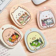 цены 50pcs/Bag DIY Cute Cartoon Kawaii PVC Stickers Lovely Cat Bear Scrapbooking Sticker For Diary Decoration