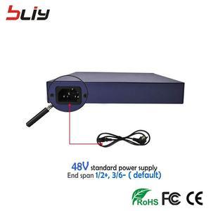Image 4 - 100 150mbps 8 ポート poe スイッチイーサネットスイッチ poe 48 V 56 v ネットワーク 250 100m の vlan アップリンクポート lan スイッチ ip カメラやワイヤレス AP ftth