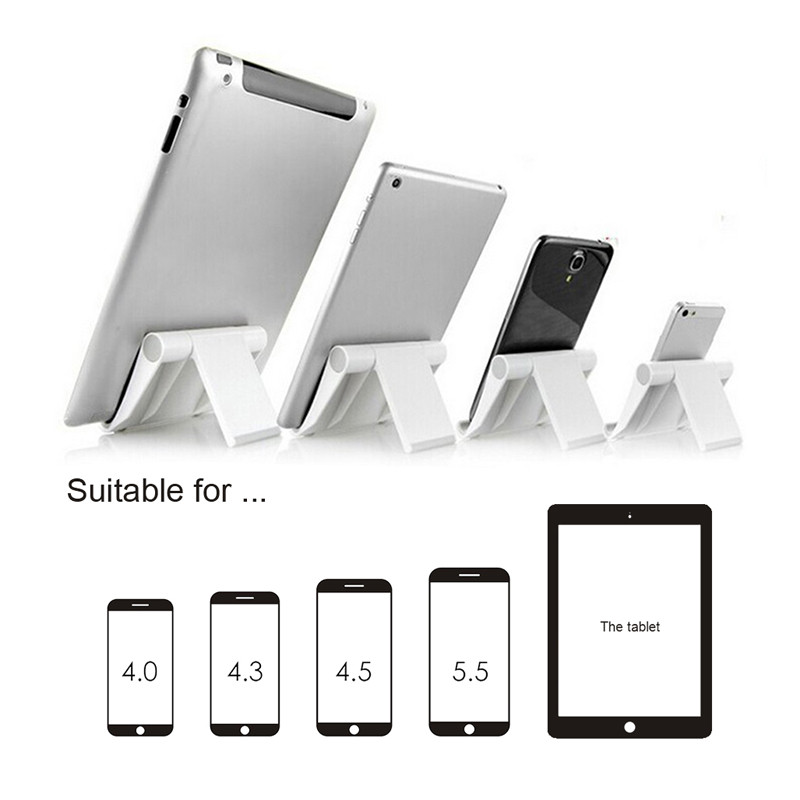 1PCS Smart Phone Holder Mini Foldable Vertical and Horizontal Mount Stand for iPhone iPad Samsung Galaxy