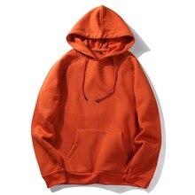 Mens Hoodies and Sweatshirts Long Sleeve Brand Hoodie Hip Hop red Black gray green Hooded Hoody Male Outwear Moleton Masculino