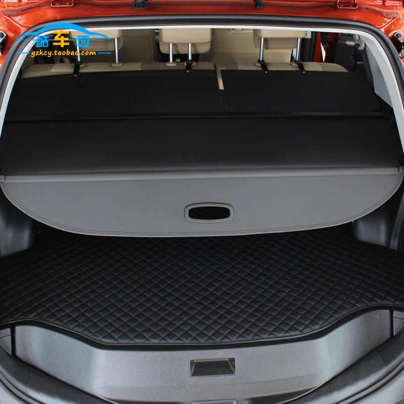Для Mitsubishi Свеча зажигания для Jin hyun крышка была слепой для 13Years-15 моделей Jin-hyun багажник отсек задняя перегородка для Honda Jed телескопическая