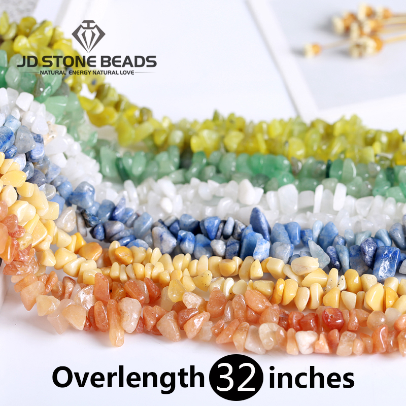 Natural Stone Beads Chips 5-8mm Agates Turquolse Strand 16 Inch Irregular Gravel Bead Diy Bracelet Supplies For Jewelry Making