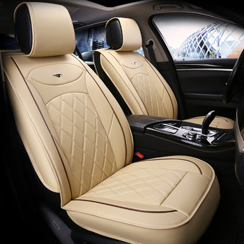 Auto Audi Hot Sale Universal Car Seat Interior Accessories faux fur Material Car Seat Cover Easy to install 6 colors 2019 new