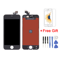 New Free Gift LCD For Iphone 4 4S 5 5S 5C Screen Replacement LCD Display Digitizer