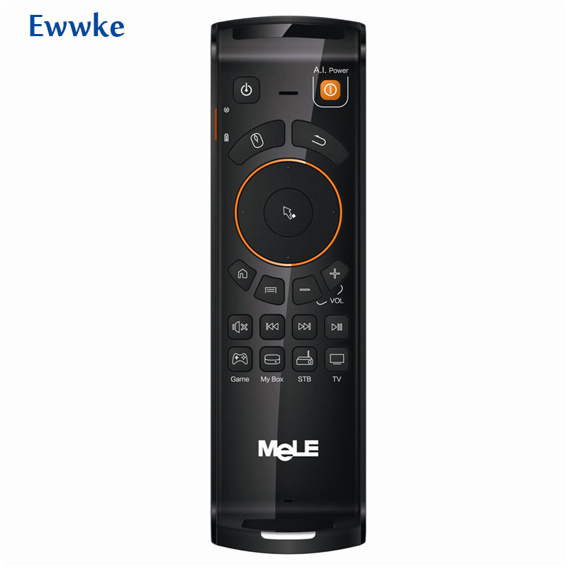 Mele F10 2 4GHz Fly Air Mouse IR Learning Function Deluxe Wireless Keyboard Remote Control for