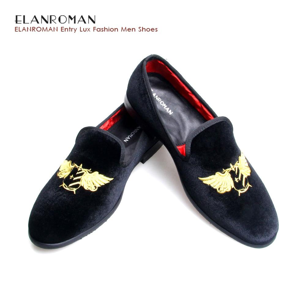 Men Velvet shoes Casual Loafers Slip