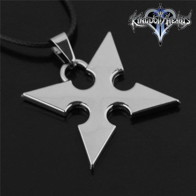 New kingdom hearts anime perimeter roxas pendant metal necklace new kingdom hearts anime perimeter roxas pendant metal necklace silver alloy animation art christmas aloadofball Gallery