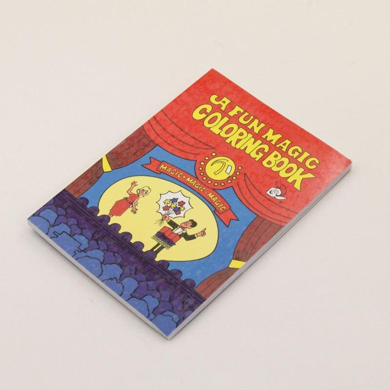 a fun magic coloring book red small size magic tricks stage magic props card magic accessories - A Fun Magic Coloring Book