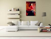 Handmade lady Spanish flamenco dancer oil painting woman figure dance on canvas modern art decoration for living room wall decor