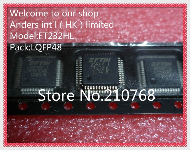 100% nouveau original FT232HL FT232 LQFP48