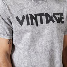 Vintage high quality washed print T shirt