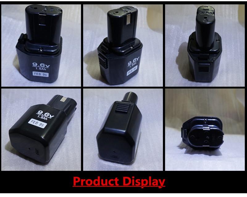 Haute Qualité 9.6 V Perceuse Électrique Batteries 14.4 V/18 V/12 v/7.2 V 1.5AH NI-CD Rechargeable et LIVRAISON un Forage