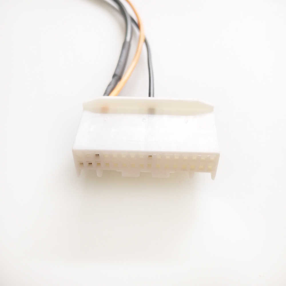 Biurlink coche DVD Cable de marcha atrás Cable de estacionamiento inverso conector de 32 pines para Nissan Qashqai