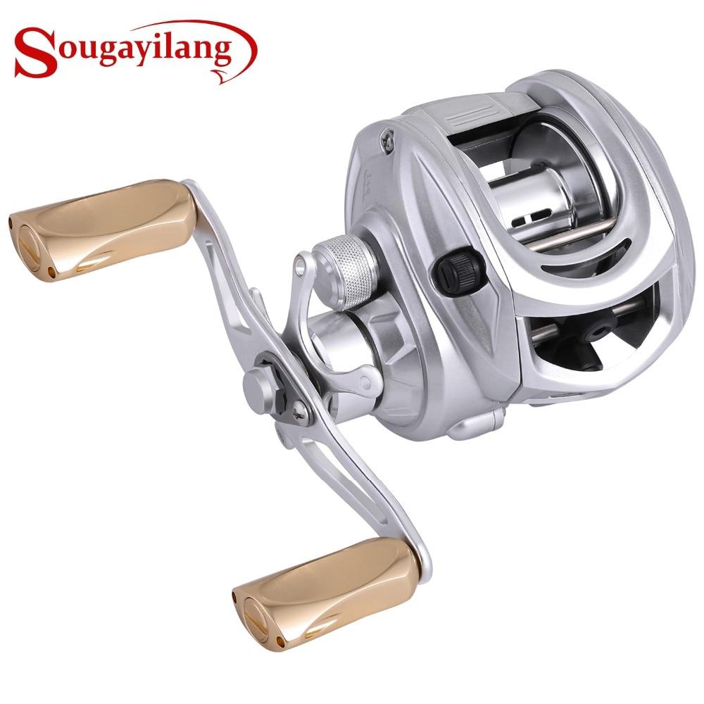 Sougayilang 7 0 1 Baitcasting Fishing Reel Full Metal Baitcasting Reel Fresh SaltWater Fishing Coil Wheels