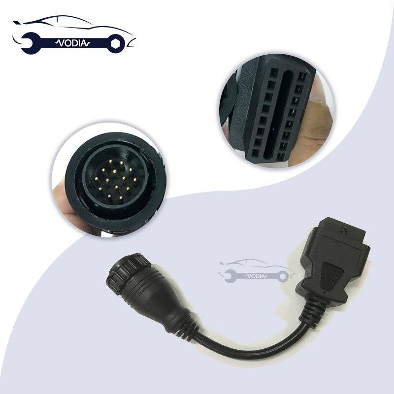 9993832 14 pin Diagnose Kabel für Vocom bau ausrüstung OBD2 Diagnose Kabel für Vocom Lkw Diagnose Werkzeug Adapter