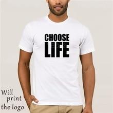 b13c08081 Retro 80s Choose Life T-Shirt Wham 80s Party George Michael Music(China)