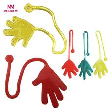 5 шт. Детские липкие ладони рук вечерние игрушки новинки Призы подарок на день рождения игрушки для детей слизи игрушки антистресс деформированная игрушка