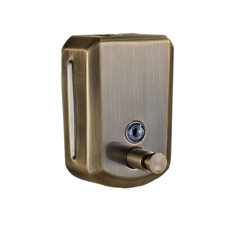 Wholesale And Retail Wall Mounted Bathroom Vessel Liquid Antique Bronze Soap Dispenser 500ml In