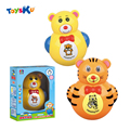 Электрический Детские Игрушки Кувыркаться Игрушки Куклы Музыкальный Медведь Тигры с Света Игрушки для Детей Раннего Образовательные