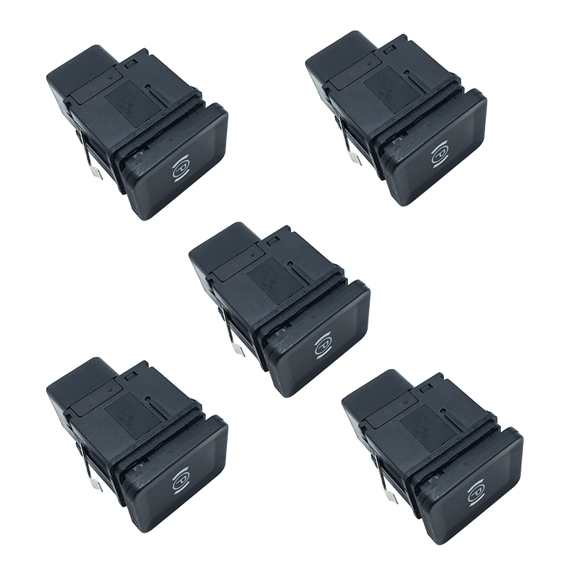 5Pcs Switch Hand Brake Handbrake Button EPB Electronic Parking Brake Switch Button For Passat B6 3C0 927 225 C