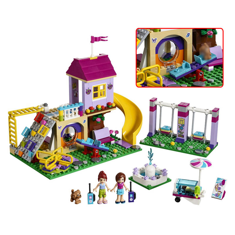 Good Educational Toys : Lepin genuine good friend girls house series building