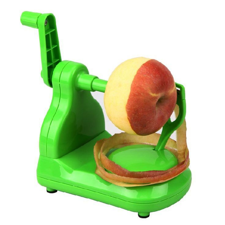Green New Apple Slinky Peeler Corer Cutter Manual Machine  95201