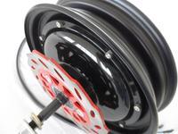 10inch 48V/60V/72V 2000W brushless high power hub motor/ strong wheel hub motor/e scooter motor