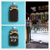 European new wooden milk cans blackboard / decoration listing / blackboard / WELCOME brand / dish brand