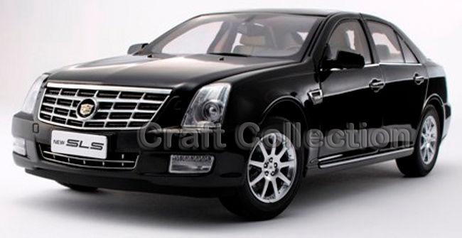Kyosho Black 1 18 Cadillac SLS Luxury Sedan Diecast Model Car Limited Edition Brinquedos Off