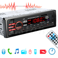 DC 12V Car SD USB 1 DIN Bluetooth Audio Receiver In-Dash FM Aux MP3 Stereo Radio